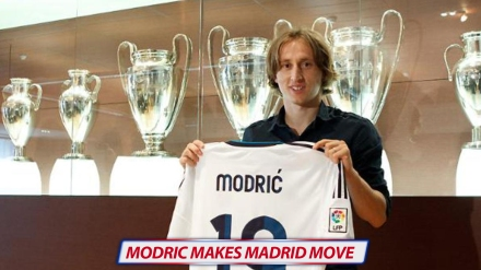 MODRIC MOVES